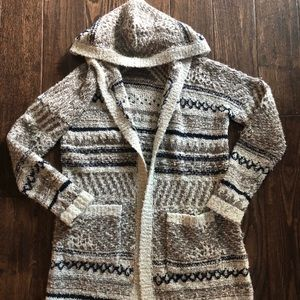 Lucky Brand long sweater cardigan Small